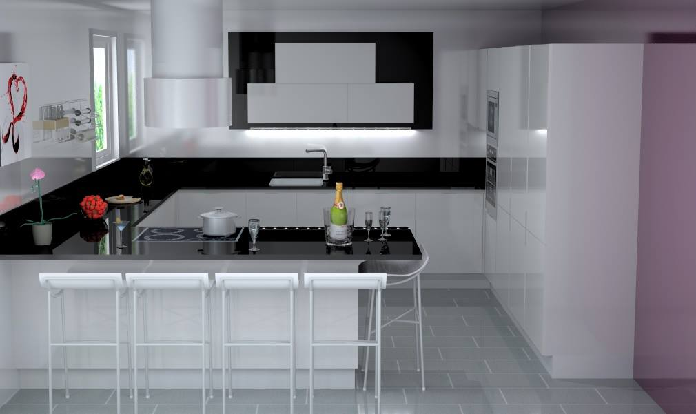 cuisines jtm cr ation veneta cucine montpellier. Black Bedroom Furniture Sets. Home Design Ideas
